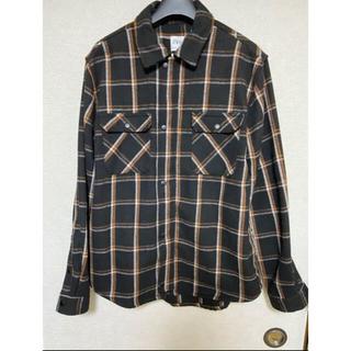 ZARA チェックCPOシャツジャケット(シャツ)