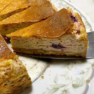 ブルーベリーチーズケーキ(菓子/デザート)