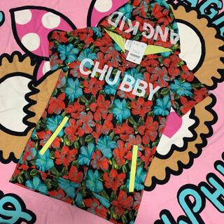 チャビーギャング(CHUBBYGANG)のチャビー☆花柄  パーカー(ジャケット/上着)