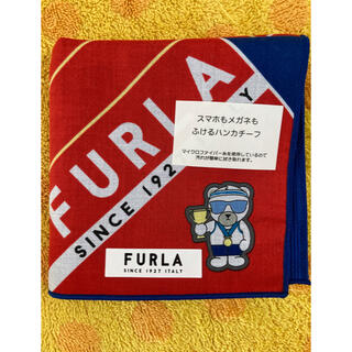 フルラ(Furla)のフルラ  スマホもメガネも拭けるハンカチ(ハンカチ/ポケットチーフ)