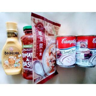 カルディ(KALDI)のKALDI カルディ食品 パスタソース、ハニーマスタード他(調味料)
