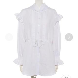 lilLilly - 新品♡ lilLilly フーデッドシャツジャケット