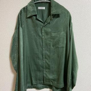 LIDNM ベロアオープンカラーシャツ(シャツ)