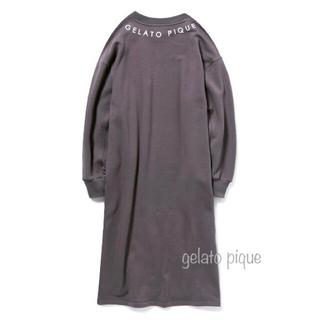gelato pique - 【新品】gelato pique ロゴスウェット ドレス ワンピース