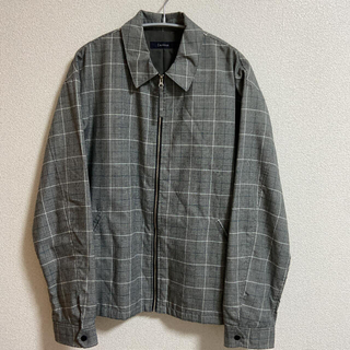 RAGEBLUE  チェックシャツジャケット(ブルゾン)
