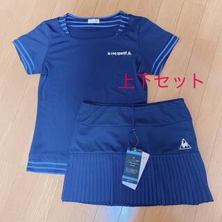 le coq sportif - ルコック テニスウェア 上下セット スコート&Tシャツ