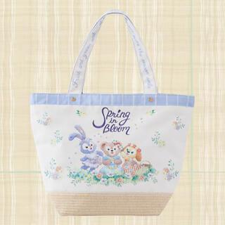 Disney - ディズニー ダッフィー スプリングインブルーム トートバッグ