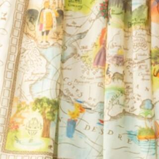 ジェーンマープル(JaneMarple)のLes merveilles 新品タグ付き スカーフ付き(ひざ丈ワンピース)