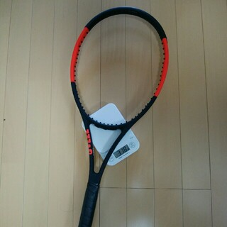 ウィルソン(wilson)のUSED美品硬式テニスラケットウィルソンプロスタッフ97+ラケットケース(ラケット)