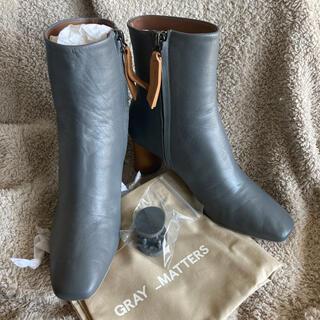 DEUXIEME CLASSE - 新品未使用‼︎Gray matters  グレイ マター 36.5サイズ ブーツ