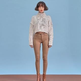 STYLENANDA - chuu -5kg jeans  vol.36 ベージュ