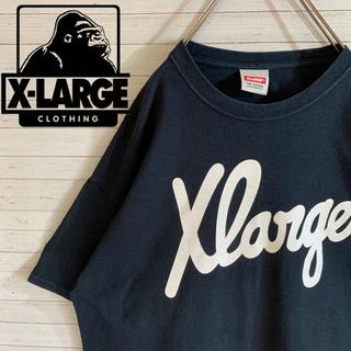 XLARGE - 【X-LARGE】エクストララージ 希少デザイン デカロゴ 半袖 Tシャツ