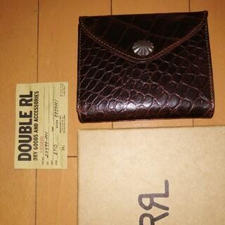 ダブルアールエル(RRL)の新品 ラルフローレン ラルフ 財布 サイフ ウォレット ダブルアールエル RRL(折り財布)