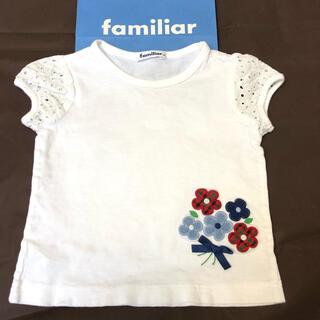 familiar - familiar 半袖 Tシャツ トップス 100