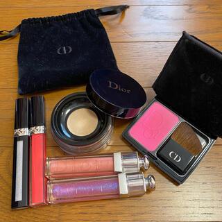 ディオール(Dior)のDior まとめ売り(リップグロス)