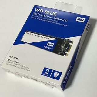 Western Edition - Western Digital SSD 2TB WD Blue