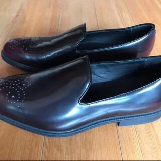 ザラ(ZARA)のZARA ザラ 未使用 メンズ シューズ ワインレッド 革靴(ドレス/ビジネス)