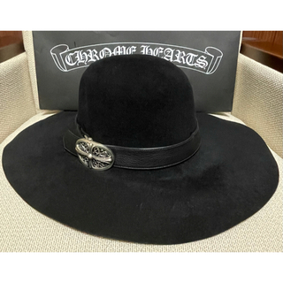 Chrome Hearts - クロムハーツ chromehearts FEDORA フェドラ ハット 帽子