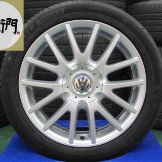 フォルクスワーゲン(Volkswagen)のフォルクスワーゲン ゴルフヴァリアント スポーツライン純正 4本セット(タイヤ・ホイールセット)