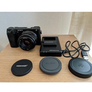 SONY - SONY a6300L 、レンズ Neewer 35mm F1.7