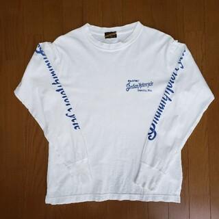トウヨウエンタープライズ(東洋エンタープライズ)の東洋エンタープライズ インディアンモーターサイクル 長袖 Tシャツ 両面プリント(Tシャツ/カットソー(七分/長袖))