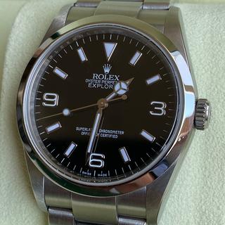 ROLEX - ロレックス エクスプローラ1  114270  V番 ルーレット