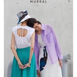 mame - MURRAL ノースリーブ トップス