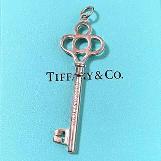 Tiffany & Co. - ティファニー クラウンキー チャーム ネックレス ペンダント 鍵