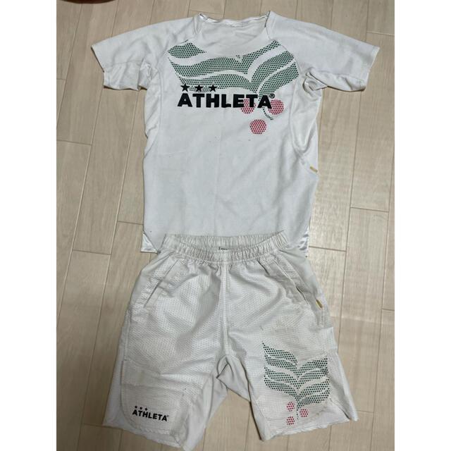 ATHLETA(アスレタ)のATHLETA 160 サッカー練習着 スポーツ/アウトドアのサッカー/フットサル(ウェア)の商品写真
