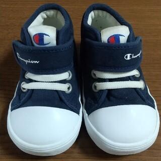 チャンピオン(Champion)のチャンピオン 靴 ベビー 13.5cm  ネイビー 紺(スニーカー)