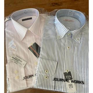 アオキ(AOKI)のワイシャツ 長袖 新品 2枚組 37-80 (シャツ)