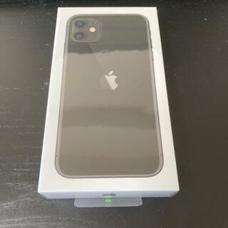 Apple - iPhone 11 simフリー ブラック 128gb 未開封