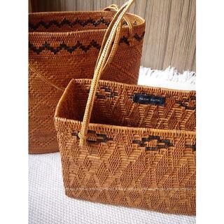 アンティックバティック(Antik batik)のANTIK BATIK アンティックバティック かご バスケット(かごバッグ/ストローバッグ)