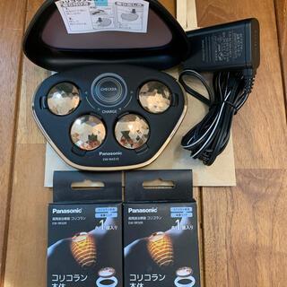 パナソニック(Panasonic)の本体2個新品未使用 パナソニック 高周波治療器 コリコラン 充電器 + 本体6個(マッサージ機)