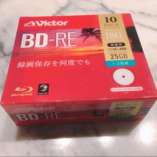 ビクター(Victor)の新品★ビクター 繰り返し録画 BD-RE ブルーレイディスク 25GB 10枚(その他)