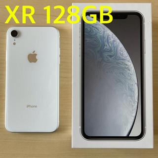 Apple - 【86%】iPhone XR White 128 GB SIMフリー 本体