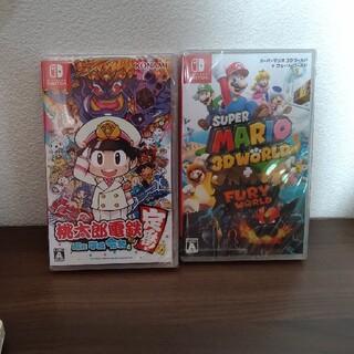 Nintendo Switch - 任天堂スイッチ ソフト 桃太郎電鉄+マリオ3Dワールド