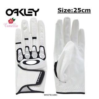 オークリー(Oakley)の新品 OAKLEY オークリー ゴルフグローブ 左手用 手袋 25cm(ウエア)