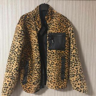 Supreme - Supreme Leopard Fleece ReversibleJacket