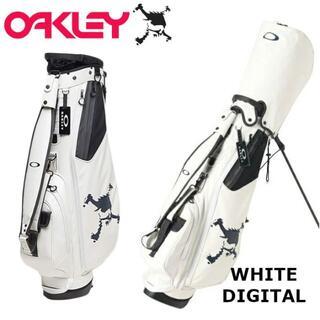 オークリー(Oakley)の新品 オークリー スカル スタンド式 8型 キャディバッグ WH(バッグ)