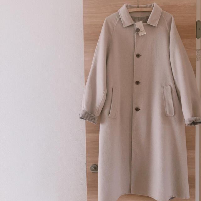 SM2(サマンサモスモス)のSM2 Wフェイスロングコート Samansa Mos2  レディースのジャケット/アウター(ロングコート)の商品写真