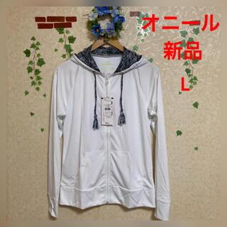 オニール(O'NEILL)の新品☆オニール☆レディース ラッシュガード☆L(水着)