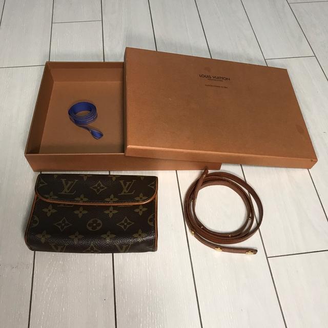 LOUIS VUITTON(ルイヴィトン)のルイヴィトン ウエストポーチ&紐 レディースのバッグ(ボディバッグ/ウエストポーチ)の商品写真