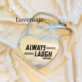 ラブトキシック(lovetoxic)のLovetoxic ハートポシェット シルバー(ポシェット)