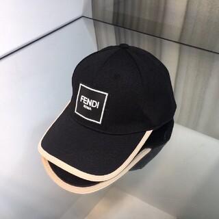 FENDI - 🌟大人気品🌟FENDIフェンディ キャップ 帽子 ブラック メンズ