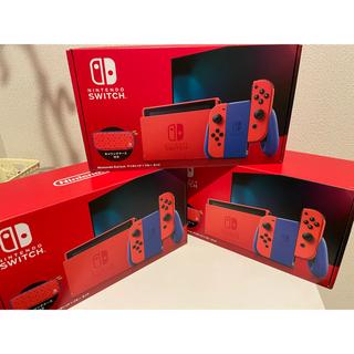 Nintendo Switch マリオレッド×ブルーセット 2台セット(家庭用ゲーム機本体)