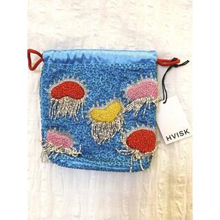 エディットフォールル(EDIT.FOR LULU)の【新品】HVISK colorful cloud pouch 巾着 bag(ハンドバッグ)