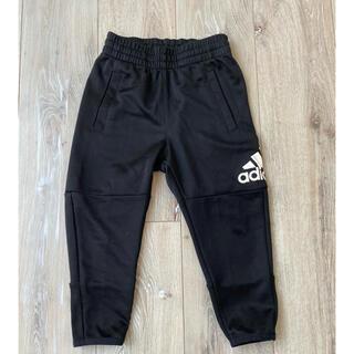 adidas - アディダス 98cm ジャージ  黒 パンツ