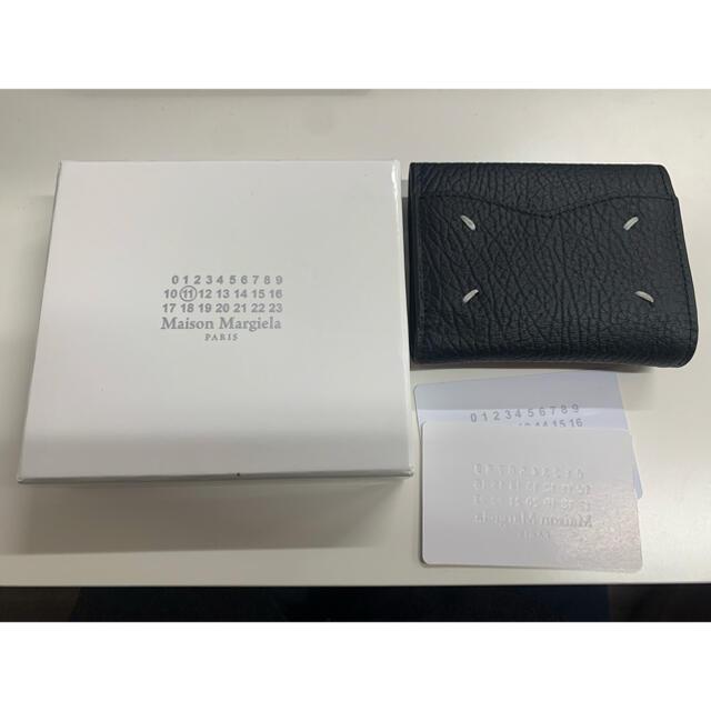 Maison Martin Margiela(マルタンマルジェラ)の MAISON MARGIELA ブラック エンベロープ ウォレット レディースのファッション小物(財布)の商品写真