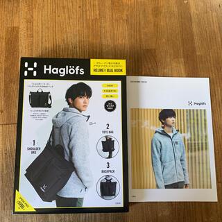 ホグロフス(Haglofs)のHaglöfs HELMET BAG BOOK 雑誌 付録 未使用 バッグ(その他)